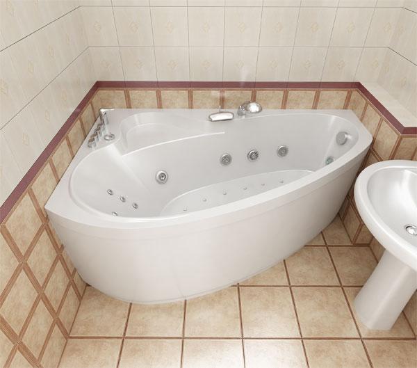 Преимущества ванны с гидромассажем