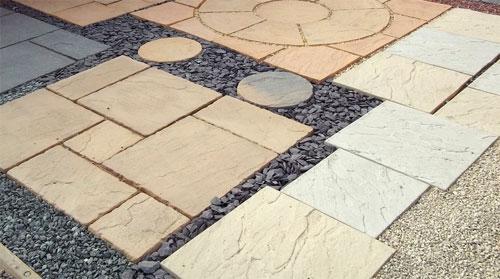 Этапы укладки тротуарной плитки