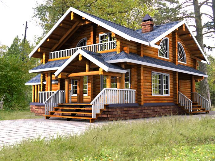 Комфорт, практичность и долговечность  домов из дерева