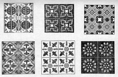 Майоликовые плитки