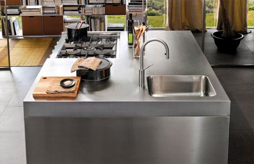 Можно создать внешний вид профессиональной кухни