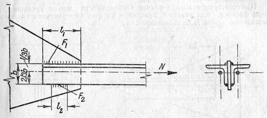 Несимметричное соединение внахлестку