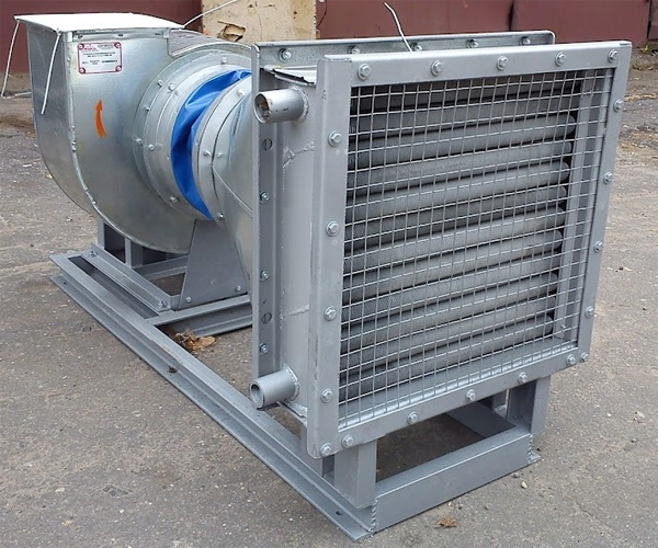 Воздушно-отопительный агрегат