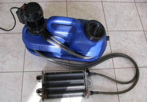 Как промывать газовый котел