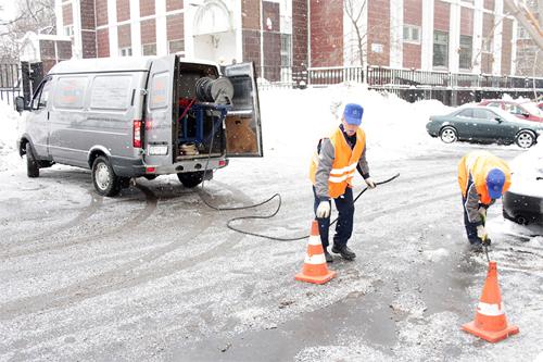 Методы чистки канализации