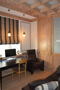 Мебель из массива для кабинета