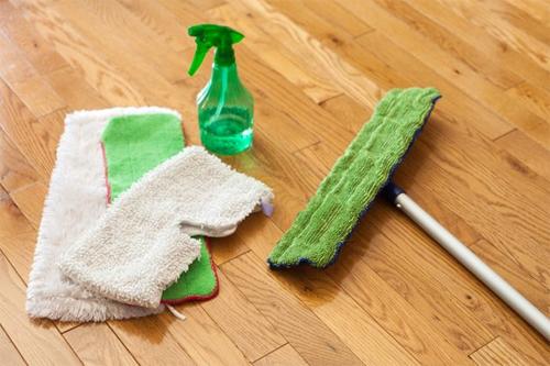 Грамотная уборка половых покрытий