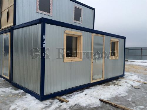 Строительство из контейнеров