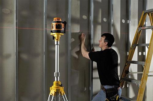 Как работает лазерный нивелир