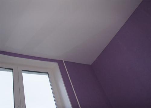 Натяжные потолки, преимущества и уход