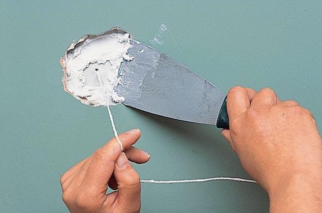 Ремонтируем стены из гипсокартона