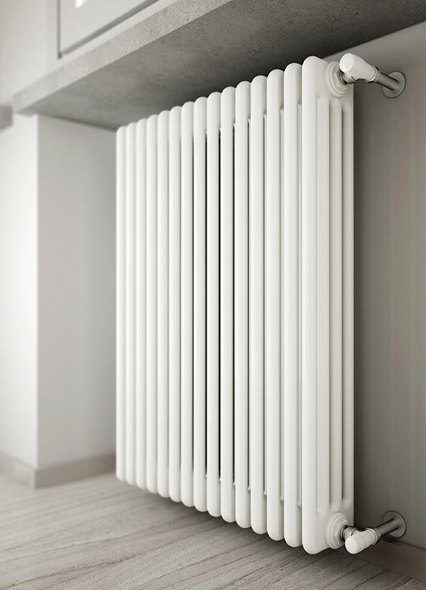 Устанавливаем трубчатые радиаторы отопления