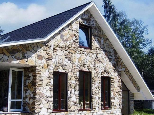 Отделка дома под камень из цементного раствора электрическое сопротивление бетона
