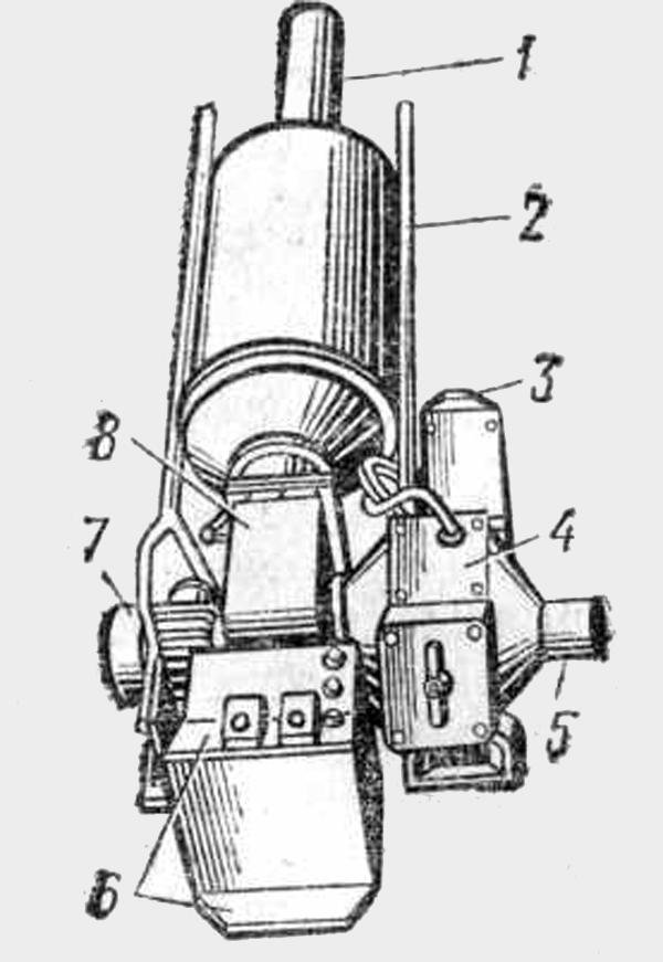 Электровоздухонагреватель ЭВП-1