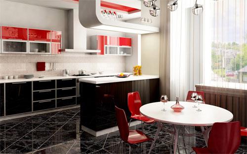 Яркие акценты на вашей кухне