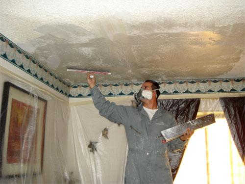 Шпатлевка для потолка