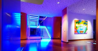 Использование светодиодного освещения в квартире
