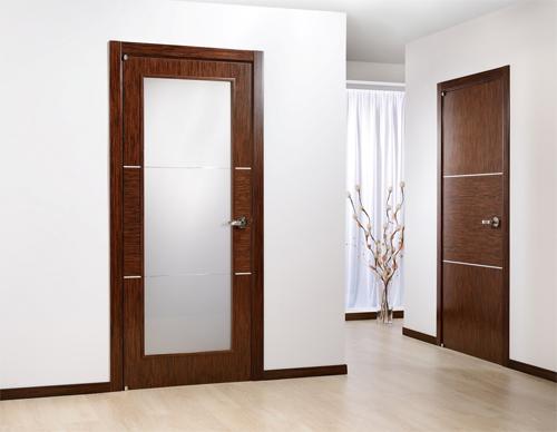 Основные виды и и конструкционные особенности межкомнатных дверей