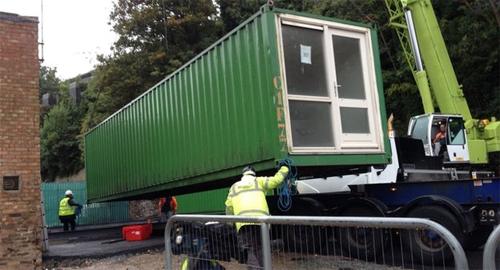 Дом из блок контейнеров