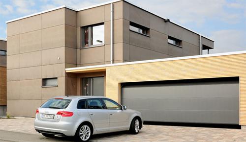 Автоматические ворота - идеальное решение, независимо от места расположения гаража.