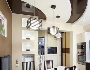 Натяжные потолки Saros design