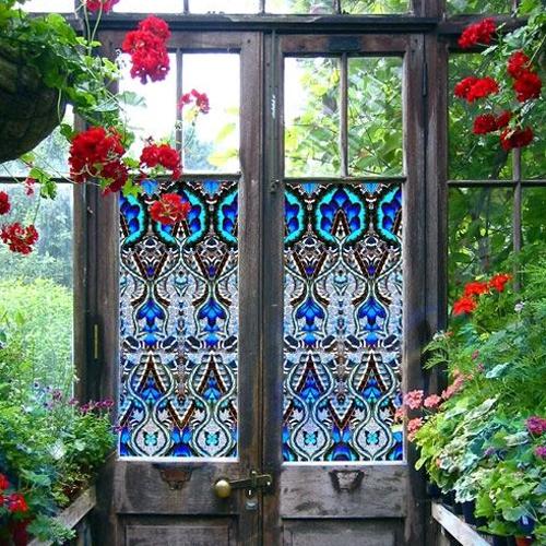 Витражи для окон и дверей из ПВХ