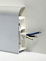 Как установить плинтус с кабель каналом