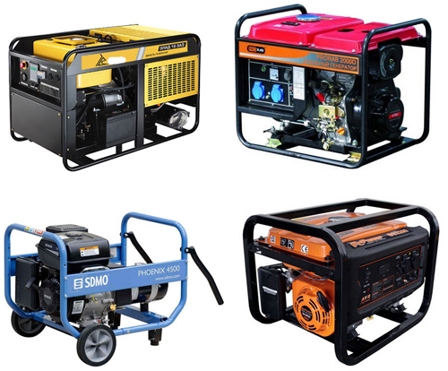 Бензиновые генераторы: цены определяются функциональностью
