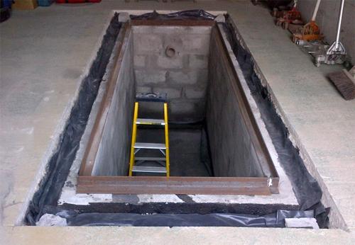 Как сделать яму в гараже своими руками