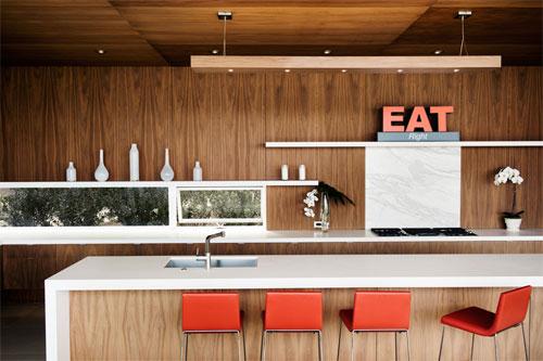Панели для кухни из натурального дерева
