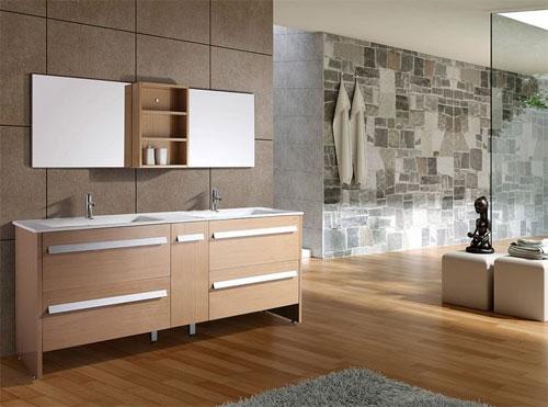 Стеклянные элементы и зеркала в вашей ванной