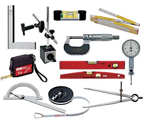 Виды контрольно измерительных инструментов