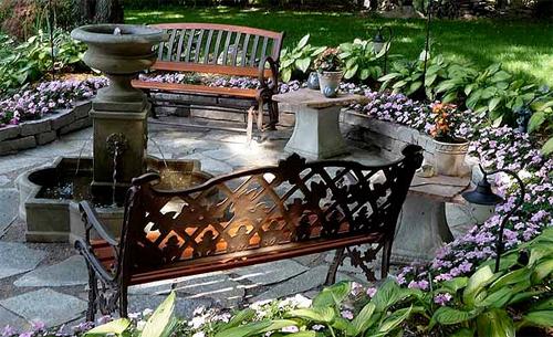 Скамьи для дачи и сада: найдите время на отдых