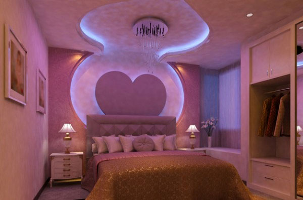 Необычный вариант оформления потолка – парящие натяжные потолки