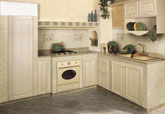 Выбор керамической плитки для кухни