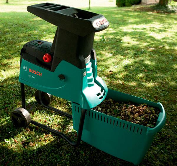 Садовый измельчитель Bosch