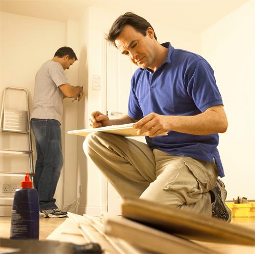 Терекс – этапы ремонта квартир Спб