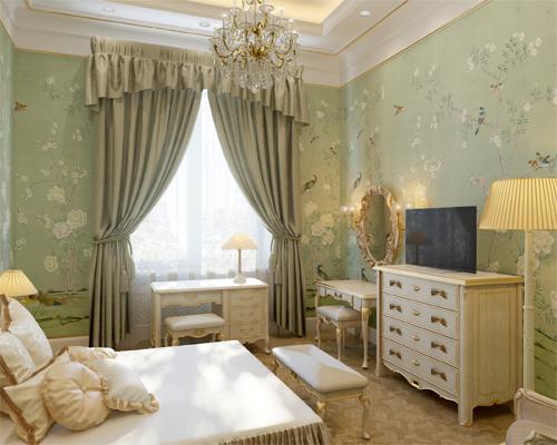 Новый дизайн интерьера спальни