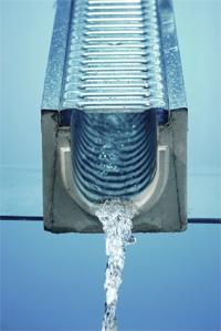 Пластиковые водоотводные лотки