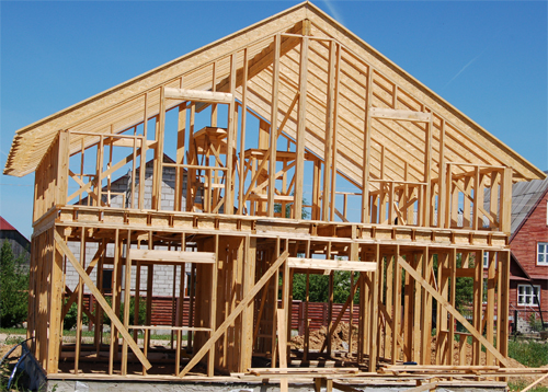 Каркасный дом: особенности строения