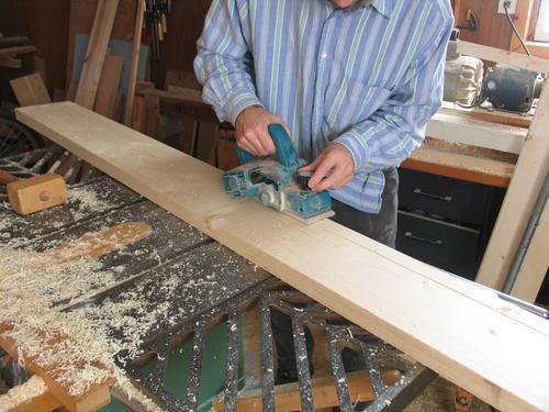 Использование обрезной доски в строительстве