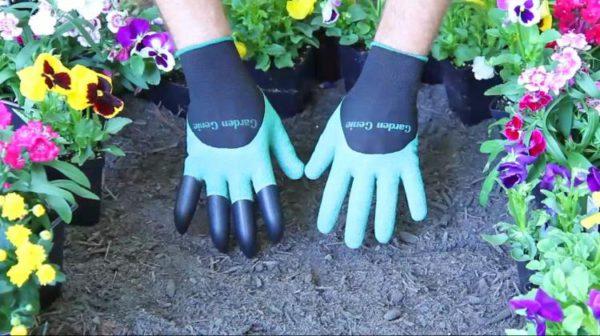 Пара перчаток для сада