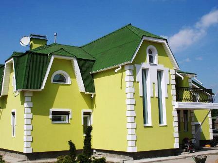 Краска для фасада. Выбор производителя, состава и цвета