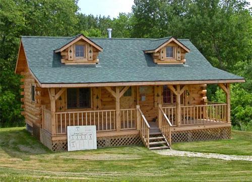 Дом из натуральных материалов