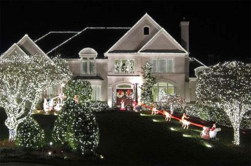 Декоративное освещение дома снаружи: преимущества и особенности