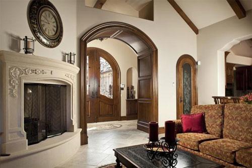 Деревянные арки: особенности внедрения в интерьер