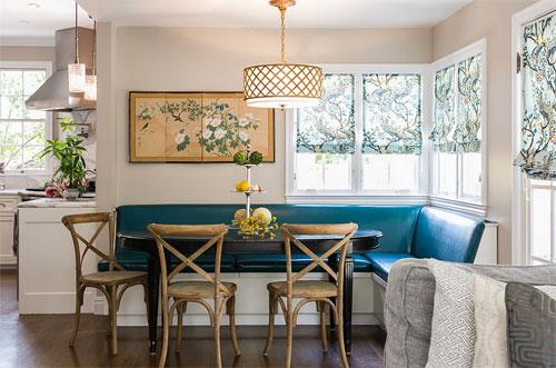 Критерии выбора углового дивана на кухню