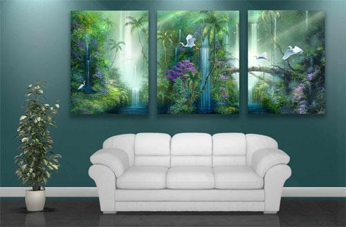 Какими картинами украсить стены?