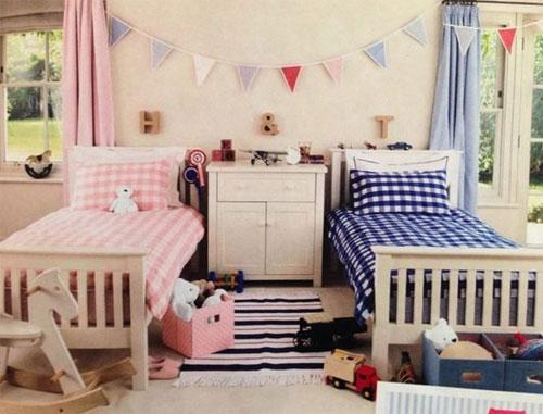 Как обустроить комнату для сына и дочери