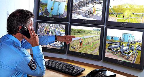 Охранные системы безопасности видеонаблюдения